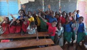 Kinder einer Schulklasse